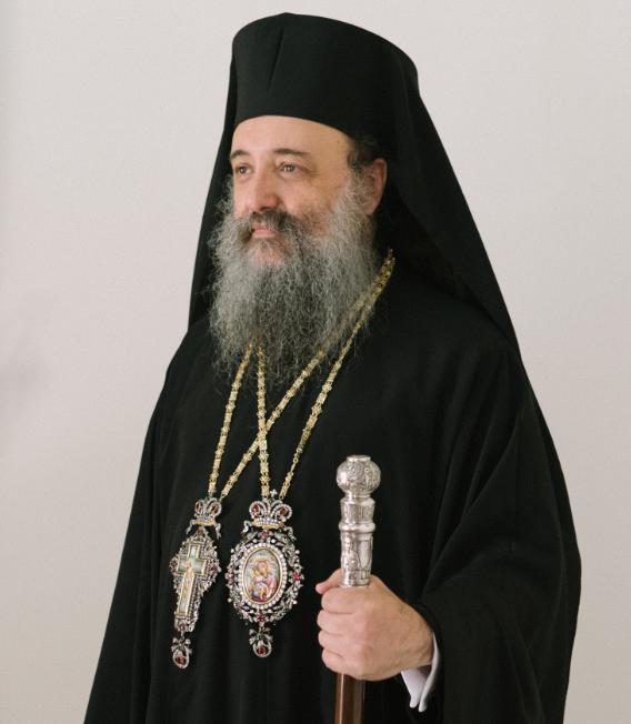 Σεβασμιώτατος Μητροπολίτης Πατρῶν κ.κ. Χρυσόστομος
